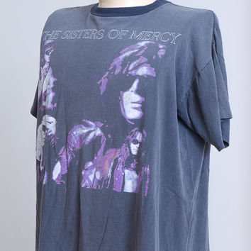 1990 Sisters of Mercy Vision Thing Tour Promo T Shirt