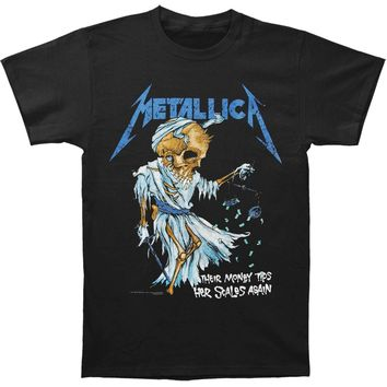Metallica Men's  Doris T-shirt Black