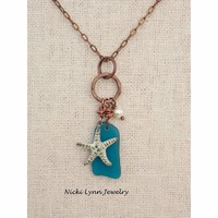 Sea Life- Sea Glass Necklace