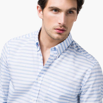HORIZONTAL STRIPED SHIRT - Essentials - MEN - United States