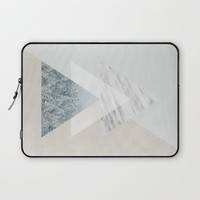Snow into the forest Laptop Sleeve by Cafelab