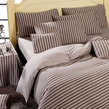 ac PEAPON Bedroom Hot Deal On Sale Bedding Cotton Knit Bedding Set [45978779673]