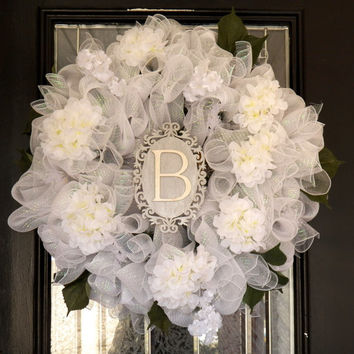 Personalized Bridal Shower Decoration, Wedding Decoration, Bridal Shower Door Hanger, Made to Order