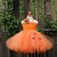 Guaranteed Christmas Delivery -Apple Jack Tutu Dress - My Little Pony - Applejack costume - Applejack cosplay - Applejack pony dress