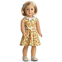 American Girl® Clothing: Kit's Floral-Print Dress