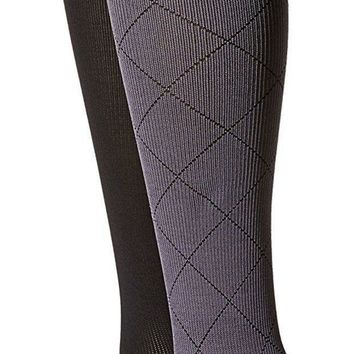 Women's Compression Socks By Dr.motion 2 Pair Pack Set