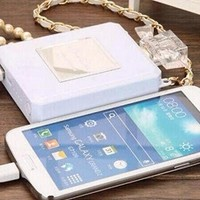 CC Perfume Bottle Power Bank External Battery Pack Ipad Iphone Samsung Mobile Charger