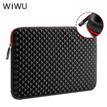WIWU 13 13.3 15 15.6 17 17.3 inch Laptop Sleeve Waterproof Shockproof Black Notebook Case Bag For Macbook Pro Xiaomi huawei etc
