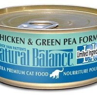 Natural Balance LID Chicken/Green Pea Cat Food 24/5.5oz