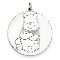 Sterling Silver Disney Winnie the Pooh Charm WD192SS