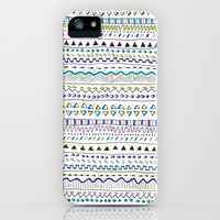 Cute aztec Pattern iPhone & iPod Case by Susan Hoogendoorn
