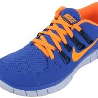 Nike Lady Free 5.0+ Running Shoes - 6 - Blue