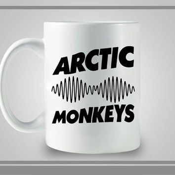 Arctic Monkey New Logo Ceramic Coffe Mug, Best Gift, Decorative With Cool Design