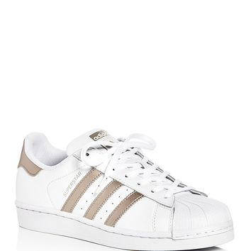AdidasWomen's Superstar Lace Up Sneakers