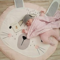 Cute Floor Crawling Blanket Carpet Baby Newborn Infant Bunny Rug Bear Photography Play Creeping Mats Children Room Decoration