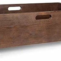 Furnishings Warehouse Rolling Under Bed Drawer, Chestnut