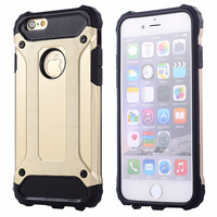 Hybrid hard tough dual layer armor case for apple iphone 7 plus 6s plus 6s 6 se 5s 5 neo shockproof TPU plastic covers cases