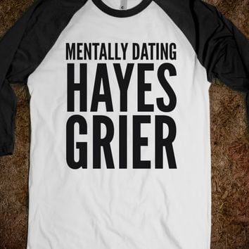 MENTALLY DATING HAYES GRIER SHIRT (IDC713104)