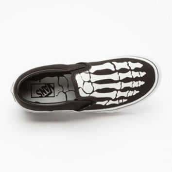 VANS Glow Bones Classic Slip-On Boys Shoes