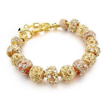 Gold Jewelry Friendship Bracelets & Bangles Women Bracelets