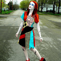 Sally The Nightmare Before Christmas Cosplay Costume