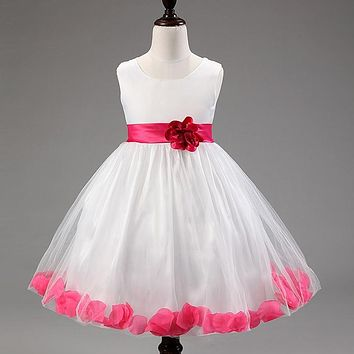Beautiful Princess petals flower dress