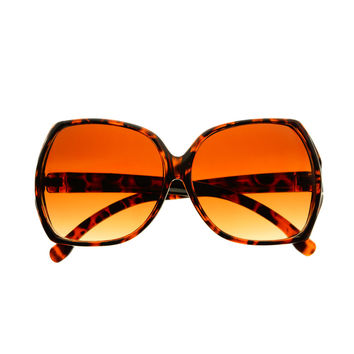 Oversized Vintage Retro Womens Square Sunglasses O19