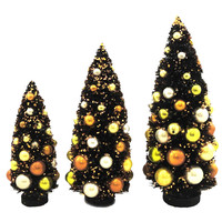 Halloween Large Spooky Trees Set Of 3 Halloween Decor
