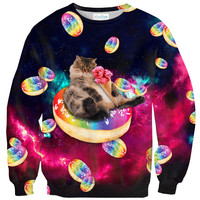 Donut Cat-astrophy Sweater