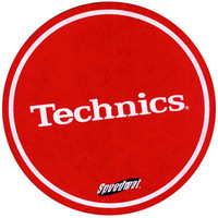 Technics: Speedmat Slipmats (Pair) - Red