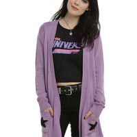 Cartoon Network Steven Universe Amethyst Girls Flyaway Cardigan