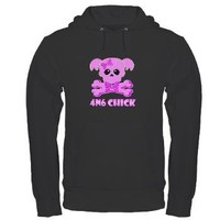 NCIS Abby 4N6 Chick Hoodie (dark)> ABBY 4N6 CHICK SKULL> The Tshirt Painter
