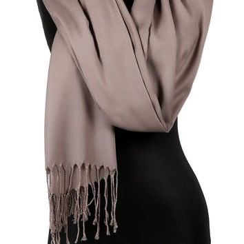 BROWN Pashmina Scarf  Shawl Bridesmaid Gift Women Fashion Accessories Scarves Gift Ideas For Her For Mom ,Christmas gift