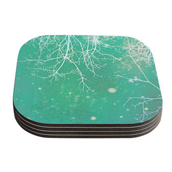KESS InHouse Branches by Alison Coxon Coaster (Set of 4)