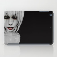 Lyric Portrait iPad Case by Galen Valle