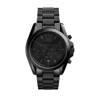 MICHAEL KORS WATCH BLACKOUT WOMEN SPORT BRADSHAW STAINLESS STEEL MK5550