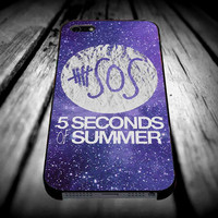 5 seconds of summer 6 for iPhone 4/4s/5/5s/5c/6/6 Plus Case, Samsung Galaxy S3/S4/S5/Note 3/4 Case, iPod 4/5 Case, HtC One M7 M8 and Nexus Case ***