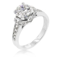 Crown Princess CZ Ring