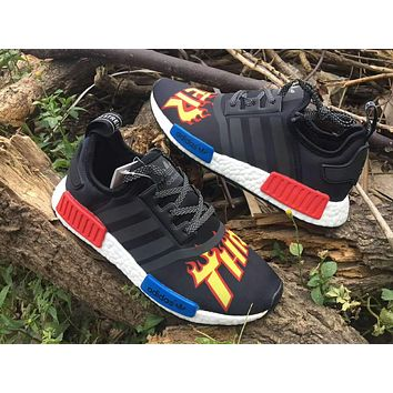 Best Online THRASHER x Adidas Consortium NMD R1 BA7526 Sport Running Shoes Classic Casual Shoes Sneakers