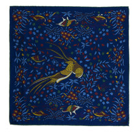 Drake's Bird of Paradise Pocket Square