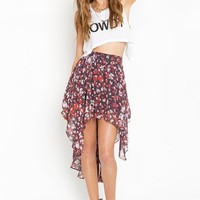 Posy Tail Skirt in  Clothes at Nasty Gal