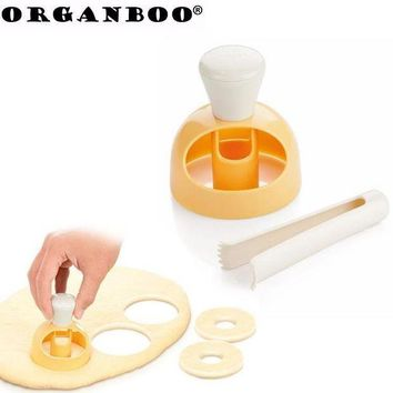 CREYLD1 ORGANBOO 1Set Donut Mold Cake Decorating Tools Desserts Bread Cutter Maker Pastry Tools Kitchen Baking Accessories