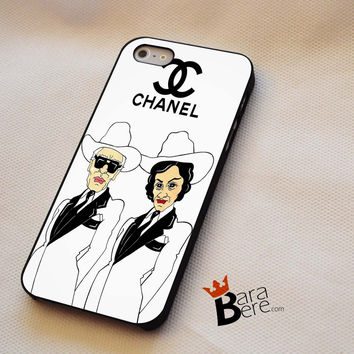 Coco Chanel And Karl Lagerfeld iPhone 4s Case iPhone 5s Case iPhone 6 plus Case, Galaxy S3 Case Galaxy S4 Case Galaxy S5 Case, Note 3 Case Note 4 Case