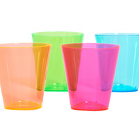Neon Shot Glasses Assorted