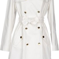 D&g White Fulllength Jacket