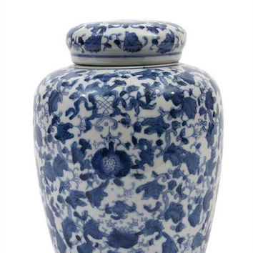Chinoiserie Ginger Jar no.4