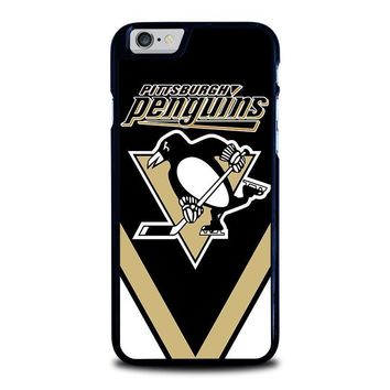 pittsburgh penguins iphone 6 6s case cover  number 1