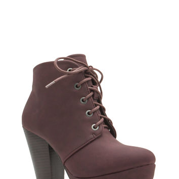 Lace-Up 2 The Challenge Booties GoJane.com