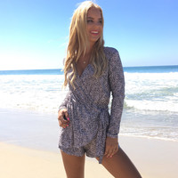 Rule The World Wrap Romper