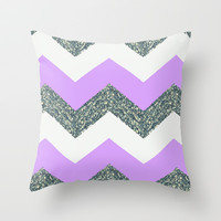 Purple Passion Throw Pillow by Pink Berry Pattern